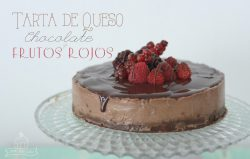 Naomi Sweet World Tarta de Queso Chocolate y Frutos Rojos