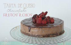 Naomi Sweet World Tarta de Queso Chocolate y Frutos Rojos