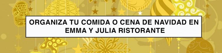 Emma y Julia Ristorante organiza tu comida o cena de Navidad