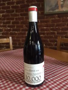 Botella de vino Treinta Mil Maravedies