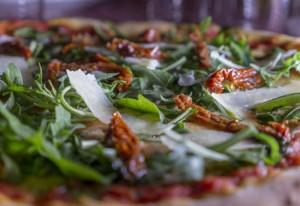 Pizza sin gluten de Emma y Julia