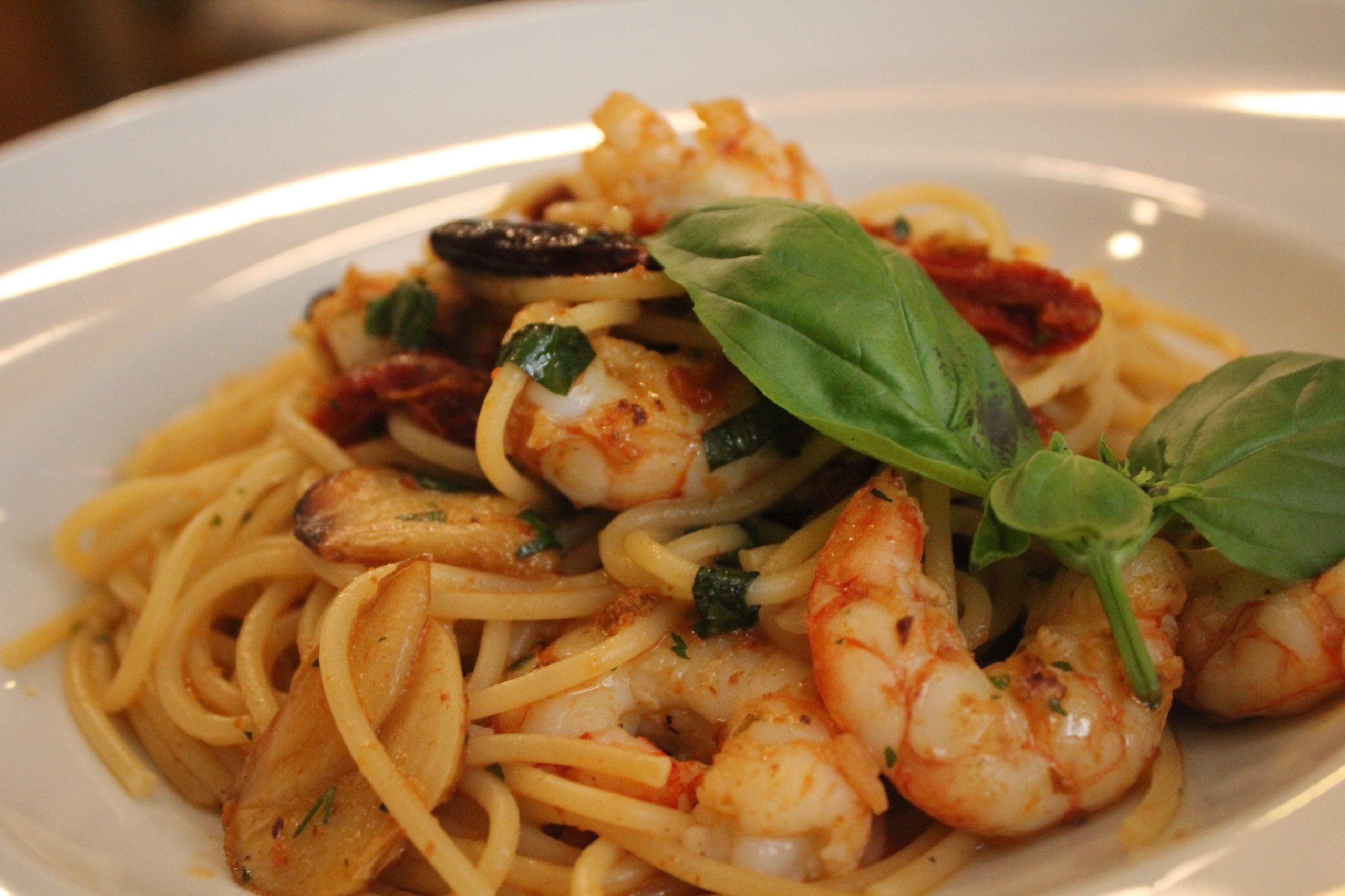 Los mejores Espaguetis frutti di mare