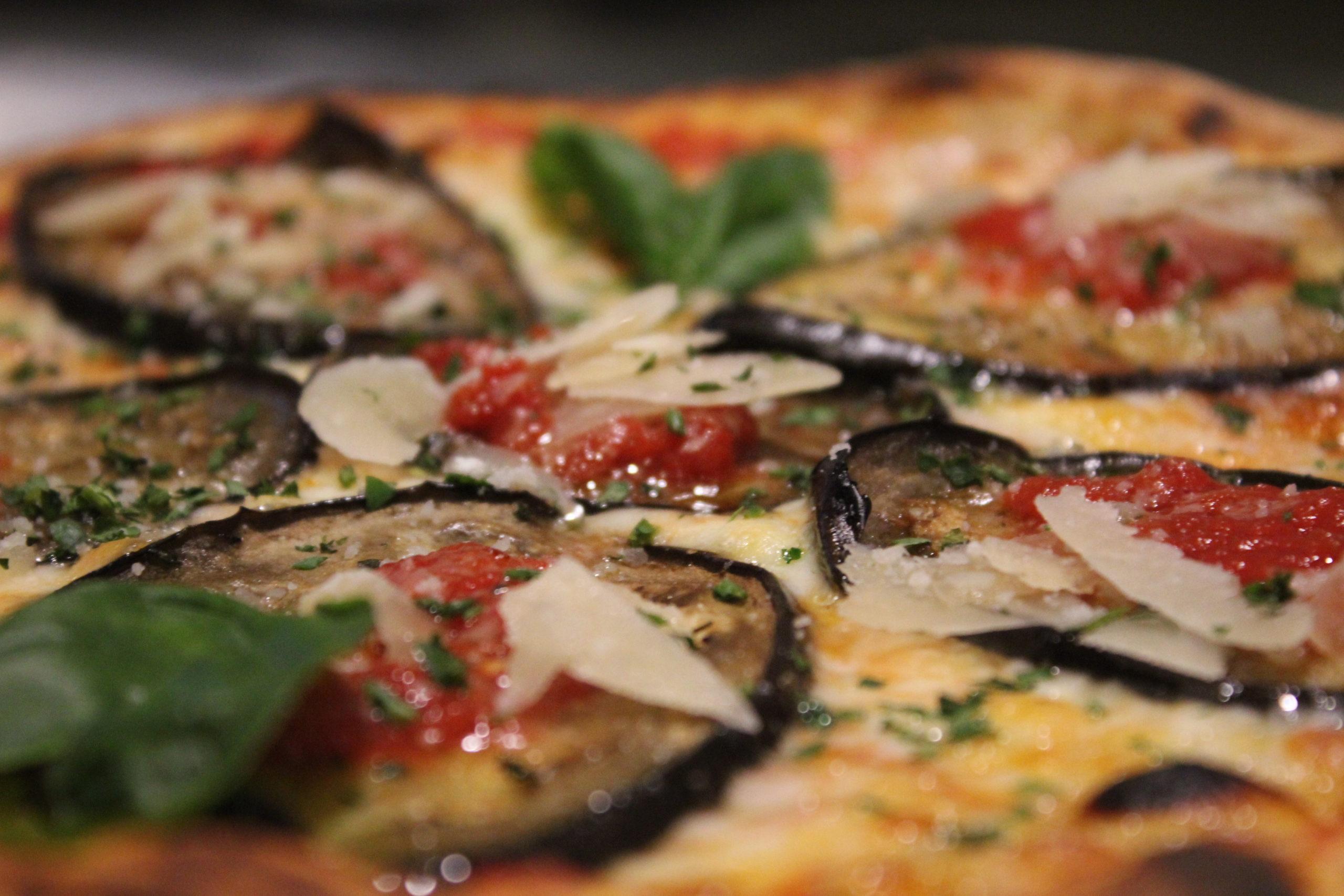 Pizza en Emma y Julia pizzería ristorante